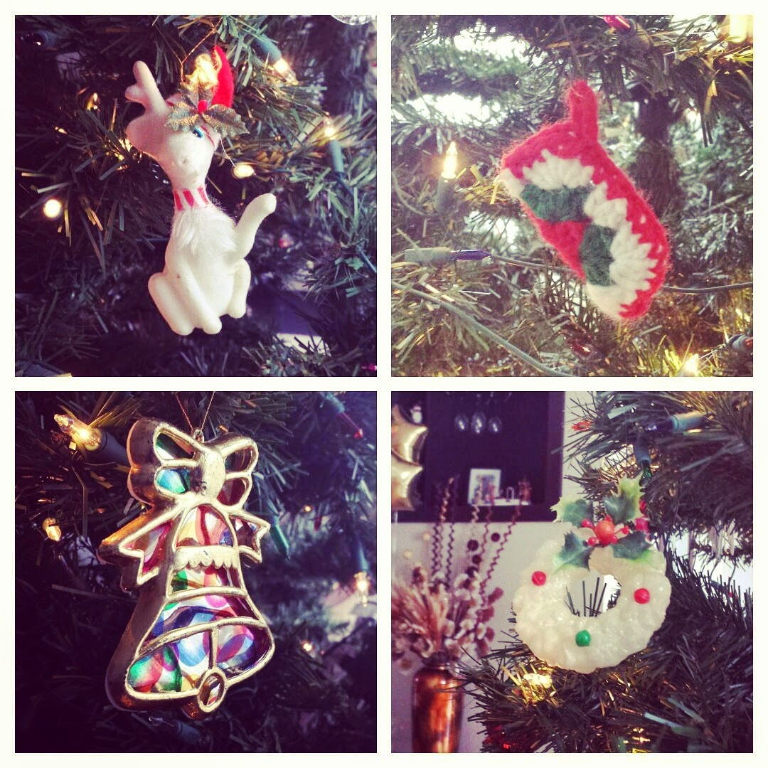 Vintage Christmas Ornaments | Anastasia Vintage
