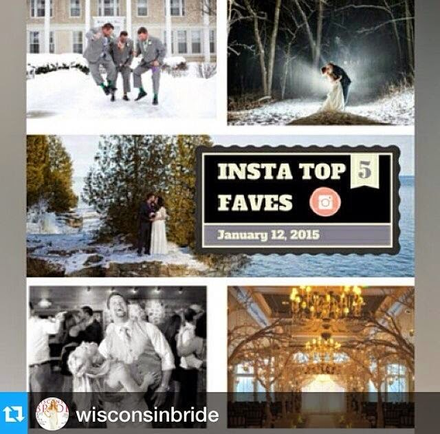 Wisconsin Bride Instagram Top 5, Door County wedding by Jason Mann Photography