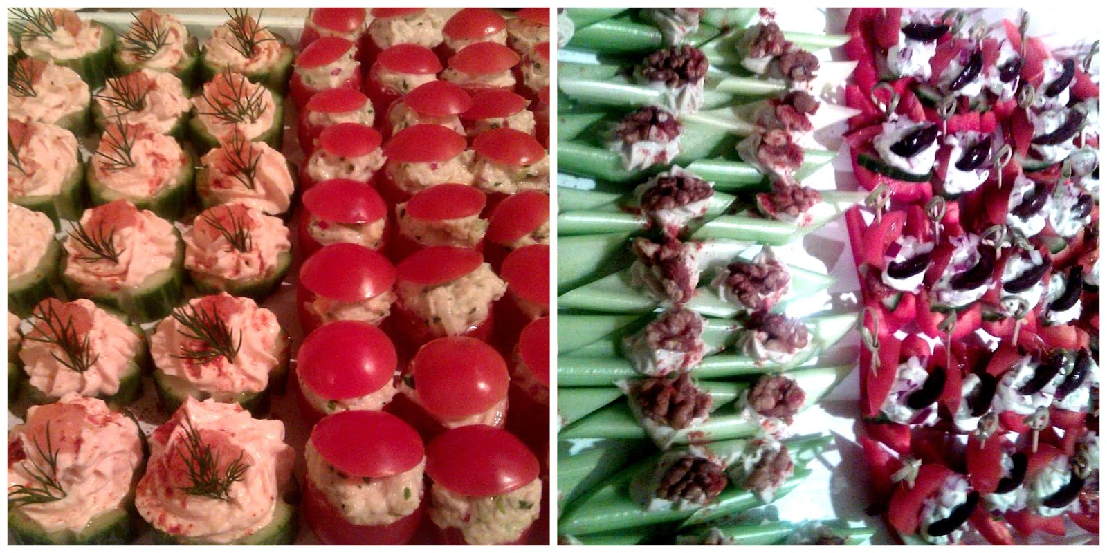 Forking foodie canap s party food and lunchbox treats for Canape party ideas