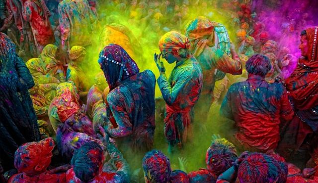Holi - ფერთა დღესასწაული