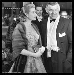 Clark Gable y Grace Kelly