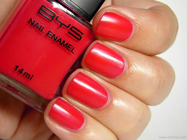 BYS Matte Red
