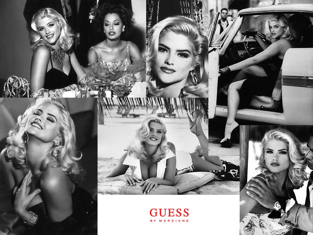 hauteluxe wildcard wednesdayvintage guess ads