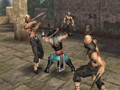 www.juegosparaplaystation.com Mortal Kombat: Shaolin Monks Ps2 Iso Ntsc
