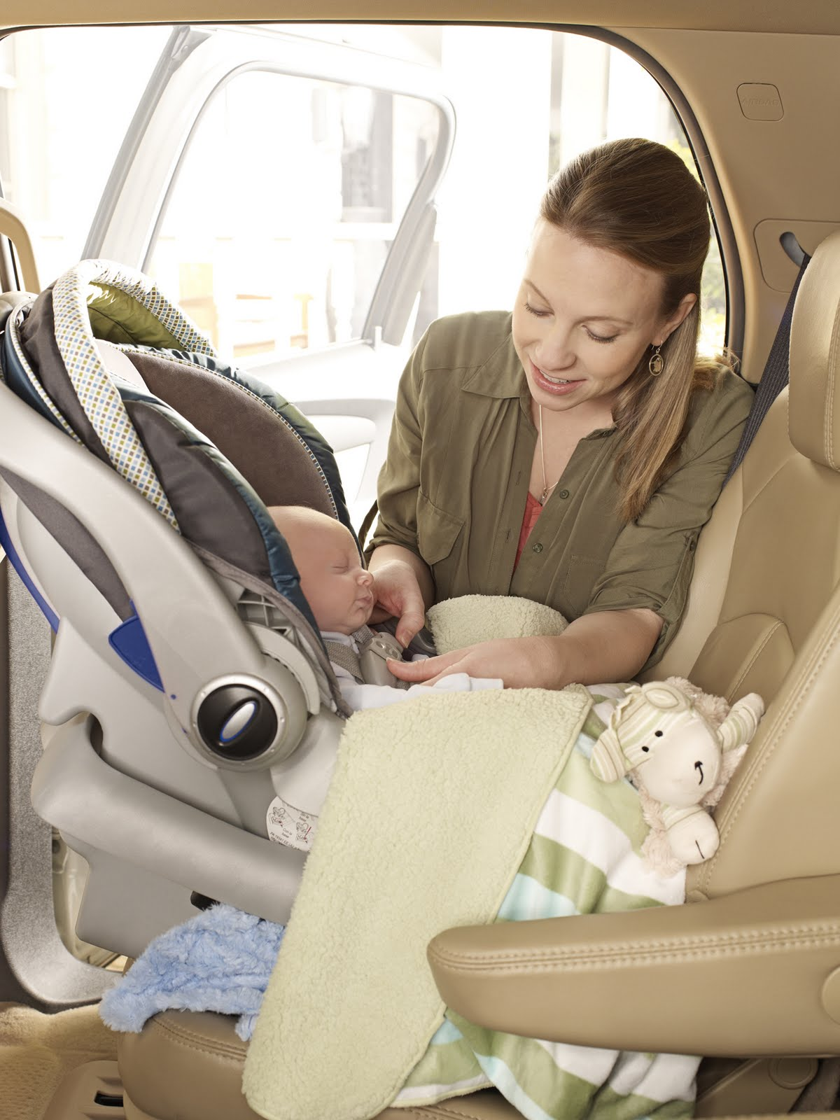 Texas Health Moms Clearing Up Car Seat Misconceptions