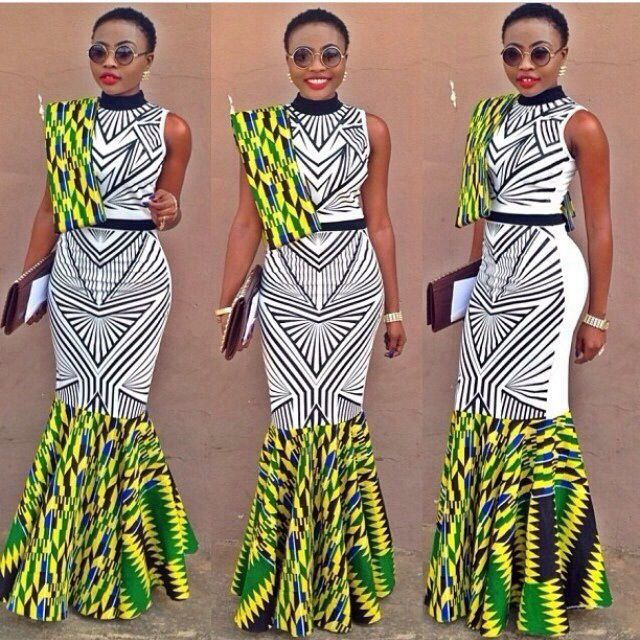 Creative African Clothing Ankara Print Debonke House Of Fashion
