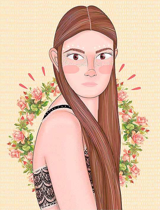 Proyecto personal, Ilustración de Laura Díez