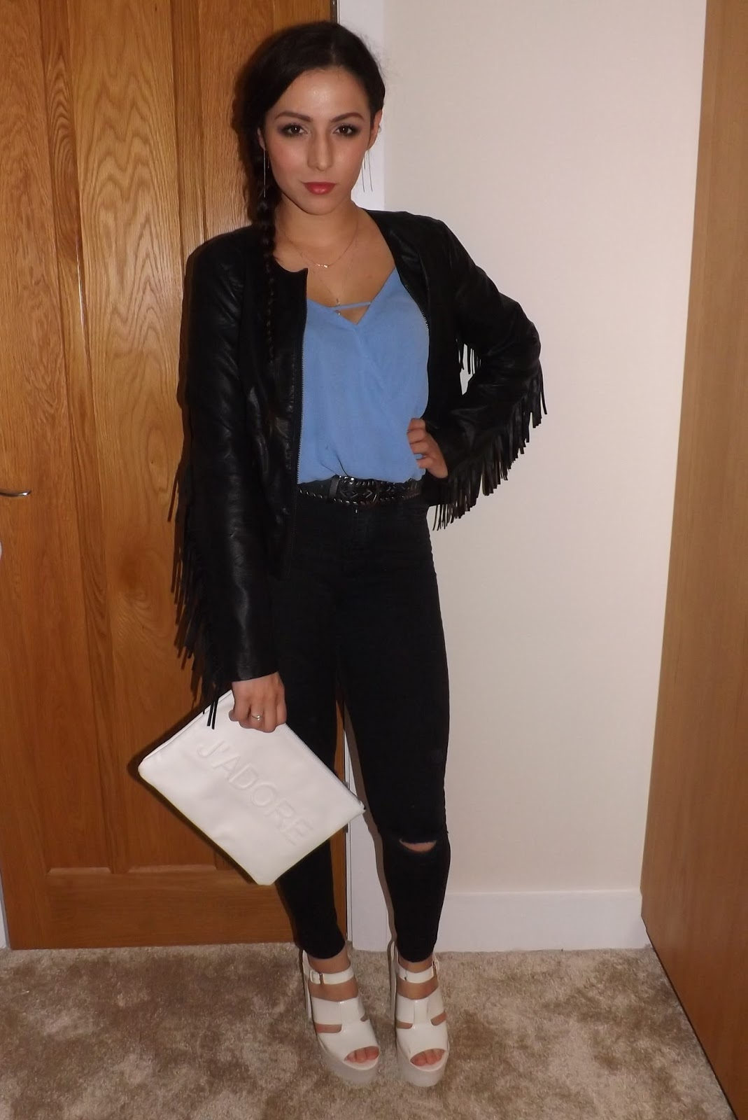 Black Skinny Jeans Night Out - Xtellar Jeans