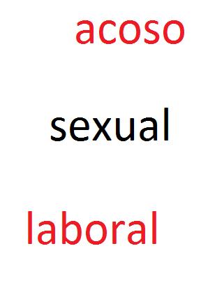 Elementos del acoso sexual laboral