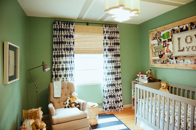 Bien-aimé Chambre d'enfant : vive le vert anglais! UO01