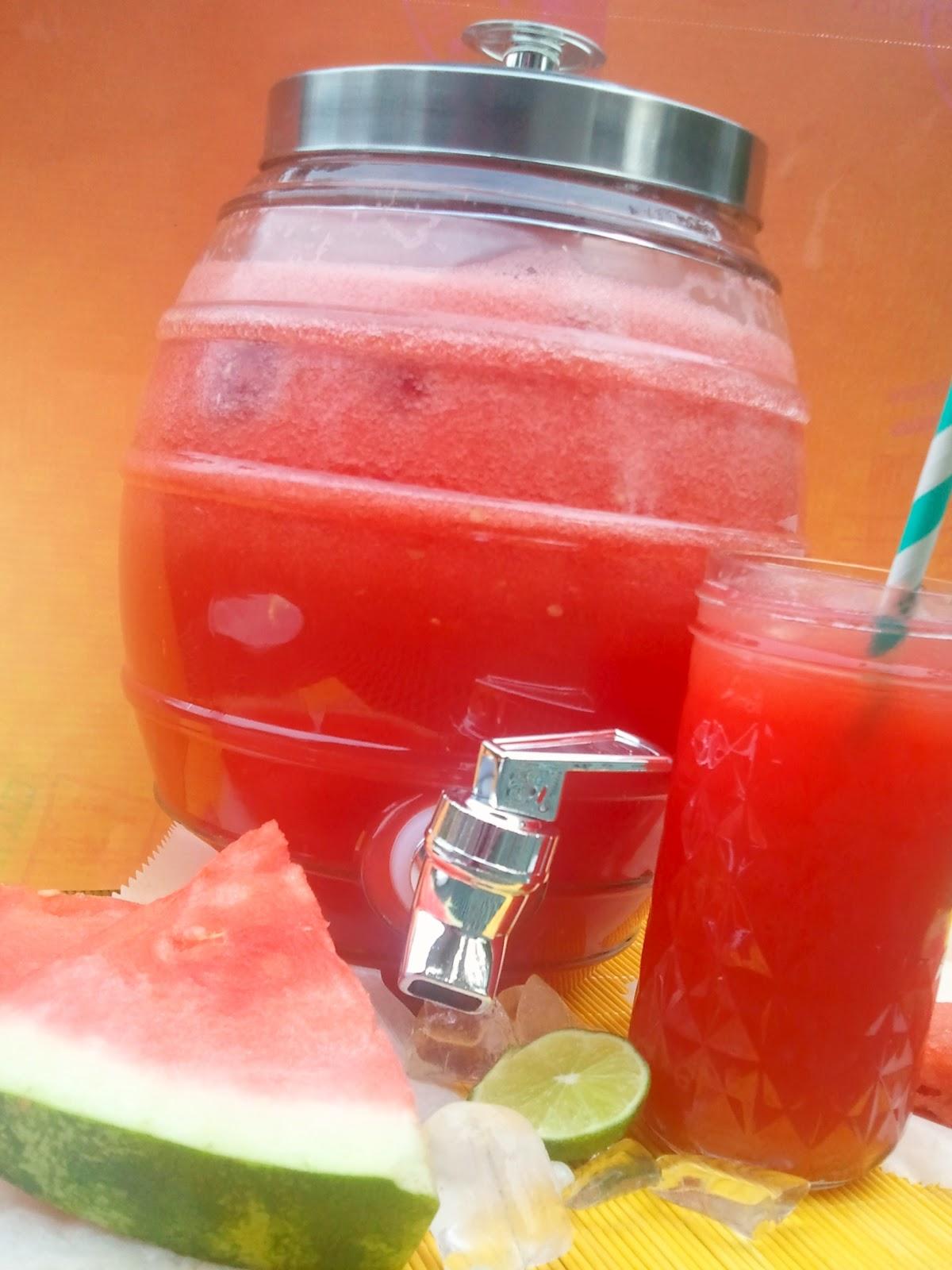 chica chocolatina: Watermelon Agua Fresca