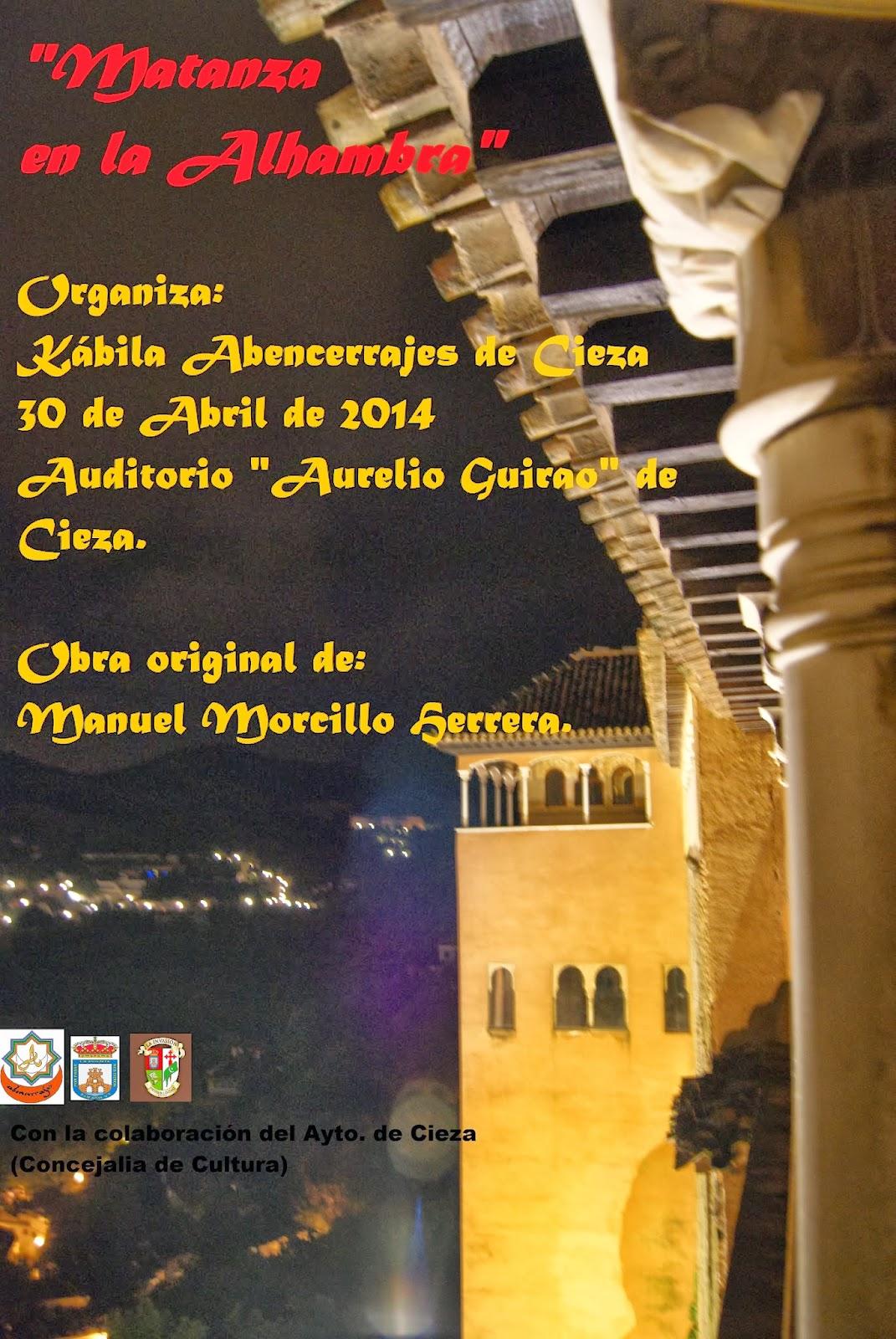 Obra de Teatro Matanza en la Alhambra