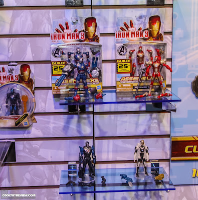 Hasbro 2013 Toy Fair Display Pictures - Iron Man 3