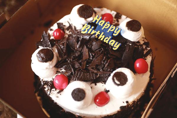 Happy Birthday Friend Chocolate Cake