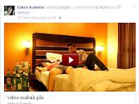 Cara mengatasi malware di facebook, gadis mabok
