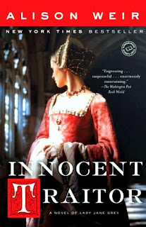 Book cover of Innocent Traitor by Alison Weir