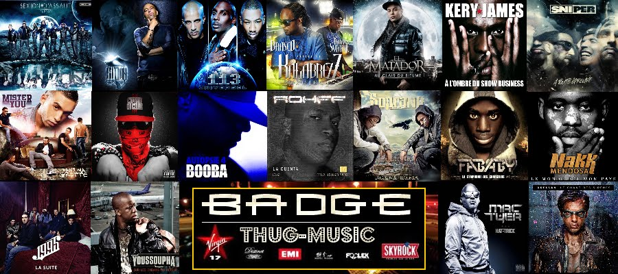 BADGE (Thug-Music) Official Music Video, New Video Clips, Actu !!! Total Exclu !!!