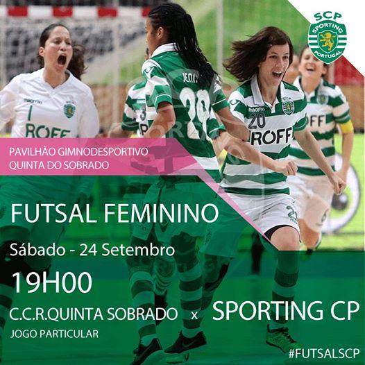 Futsal Feminino com mais um teste