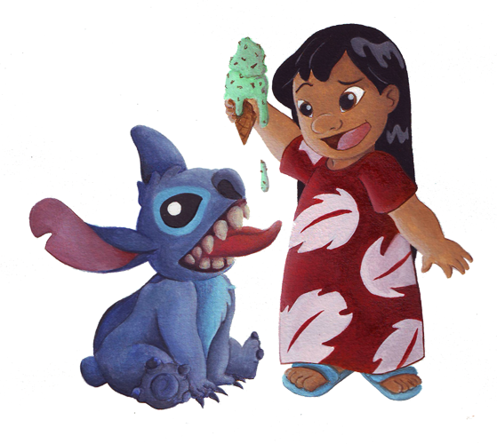 Lilo and Stitch Drawings