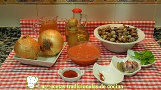 Receta fácil de caracoles en salsa