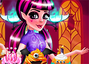 Draculaura Cupcake Decor juego