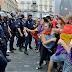 Represión policial contra manifestantes republicanos. Detenciones y censura el día de la coronación