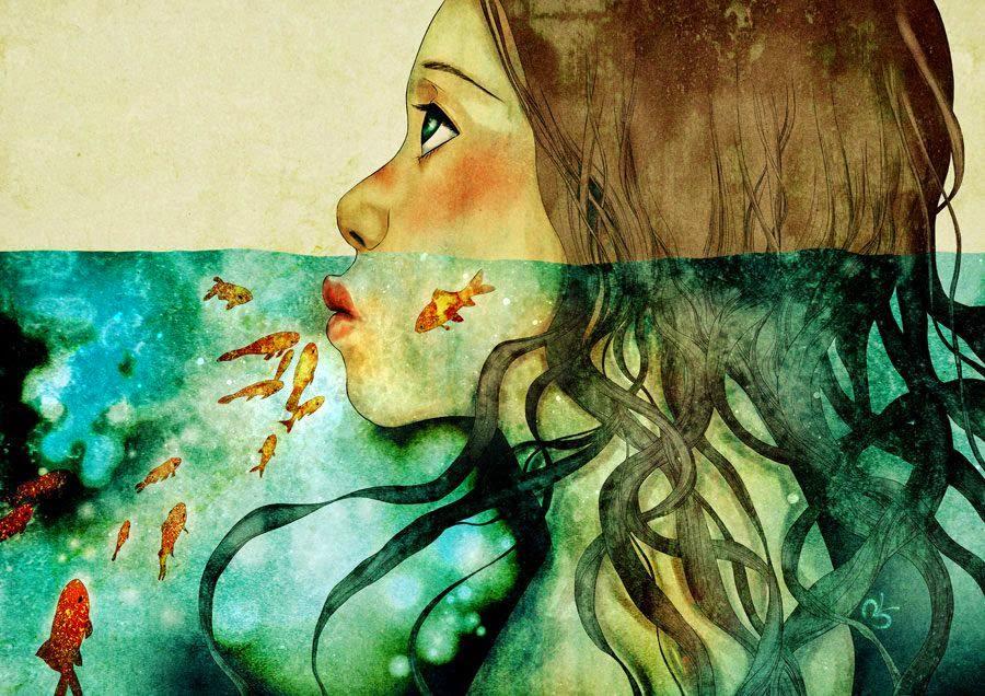 Pinzellades al món: Les il·lustracions poètiques de Moony Khoa Le ...