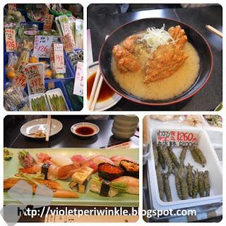 Japanese vegetables wasabi