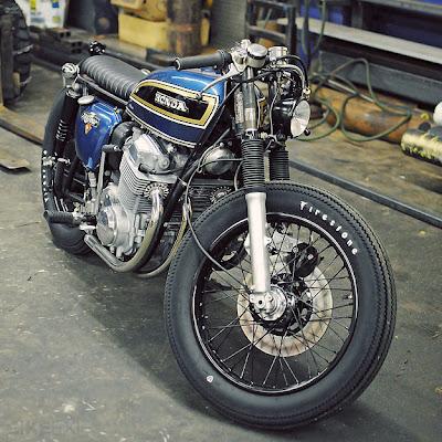 jap style - Honda CB - 750 - BRAT STYLE - 3