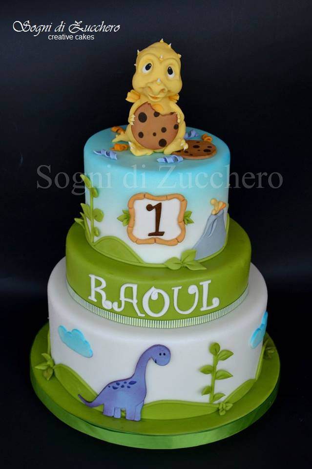 Dinosuars Baby Shower Cakes For Boys