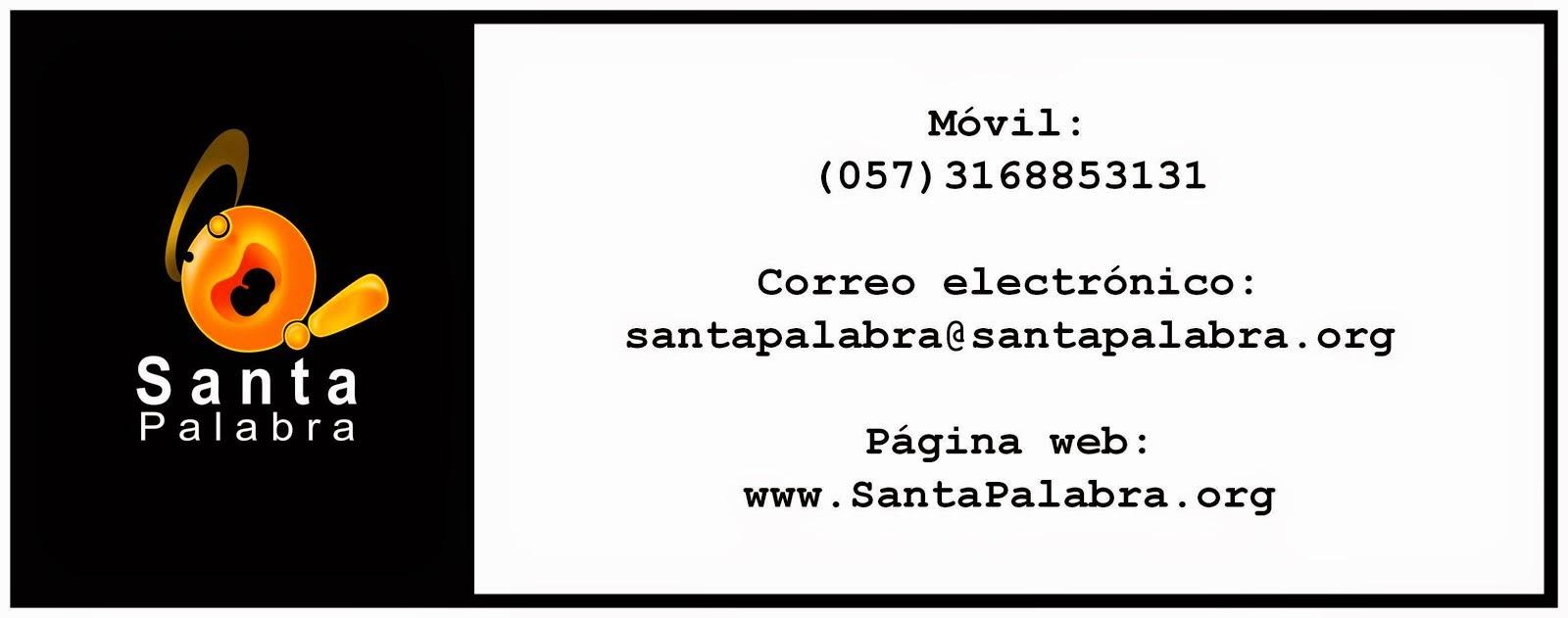 Contacta a Santa Palabra