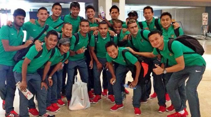 Keseruan Timnas Indonesia Sebelum Laga AFF 2014