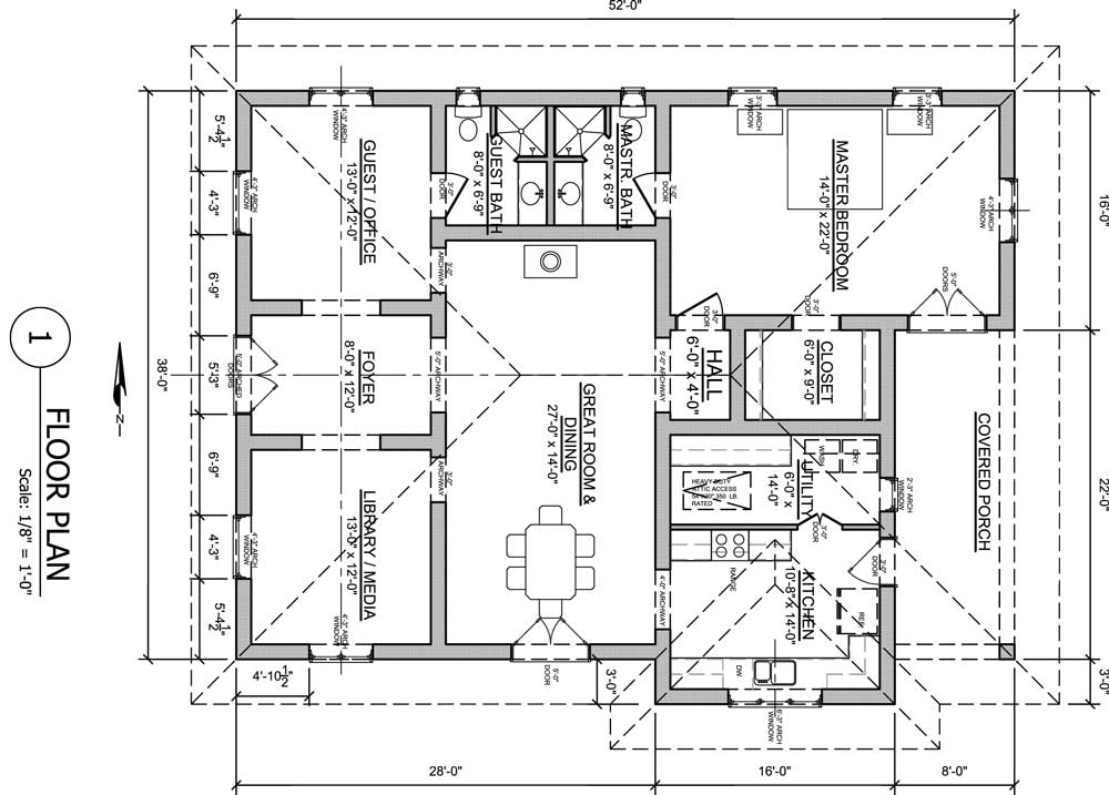 House Floor Plan Architecture Symbol