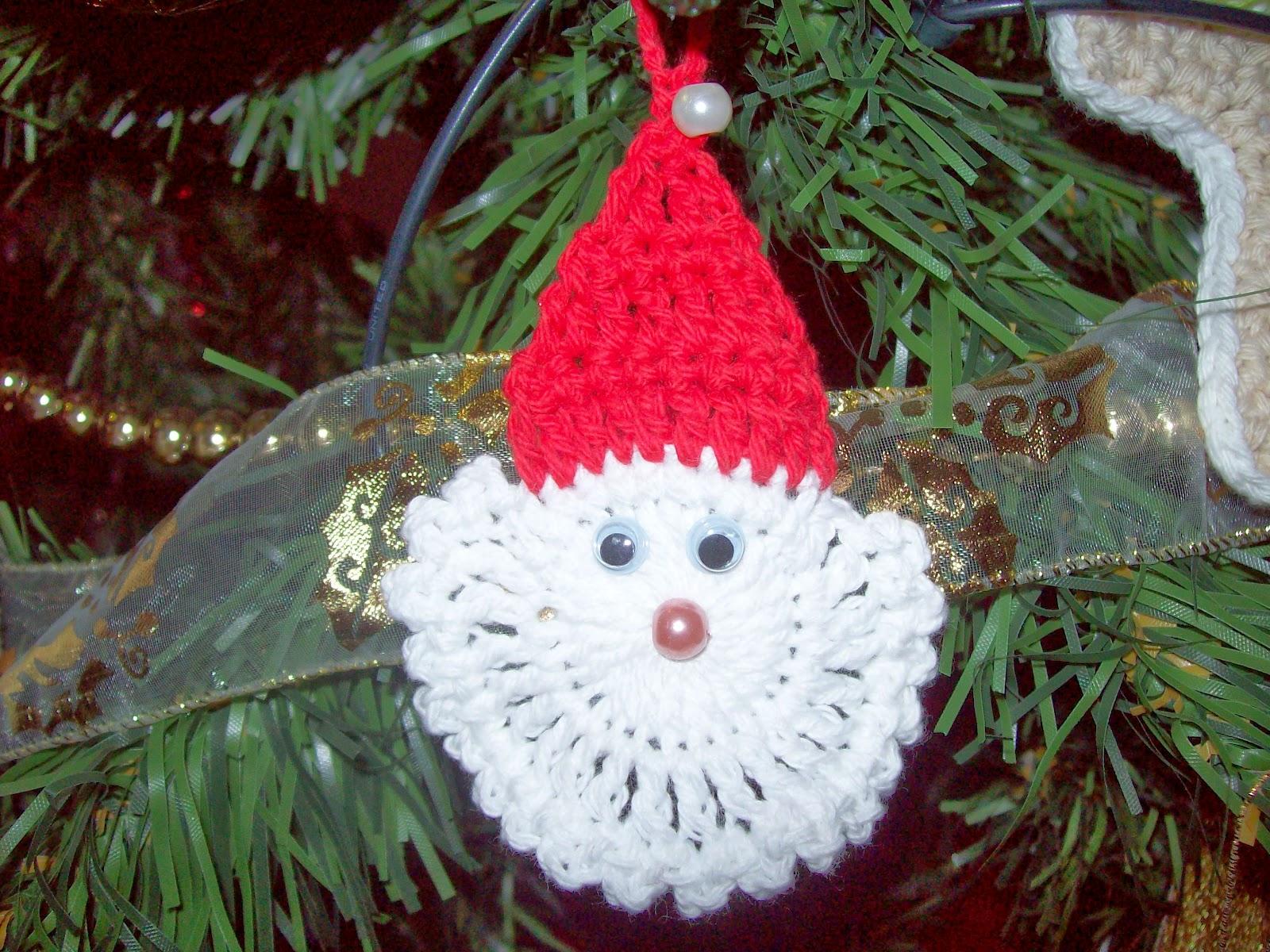 Crochet simple y delicado m s adornos navide os - Adornos navidenos crochet ...