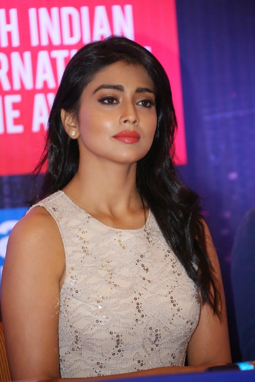 Shriya Saran at SIIMA Awards Curtain Raiser PM