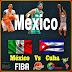 Hoy 6 de Agosto  9:00 PM Hora DF, 8:00 Hora Pacífico, México vs Cuba, transmisión gratuita y de paga