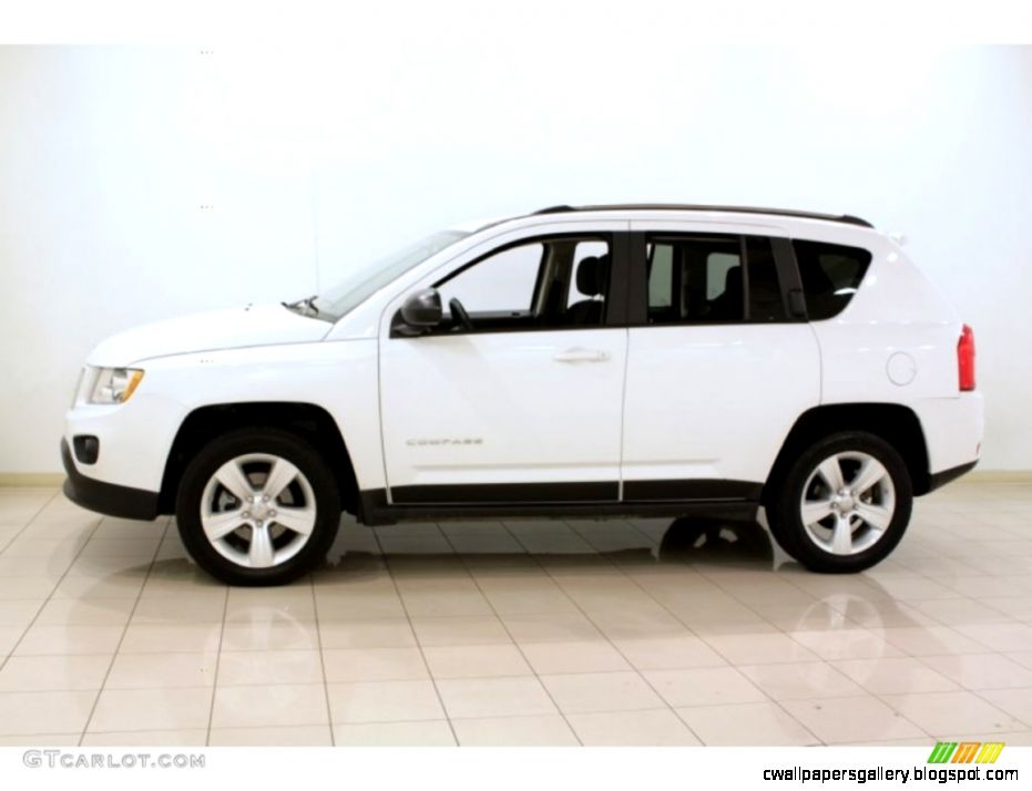 2012 Jeep Compass Sport White