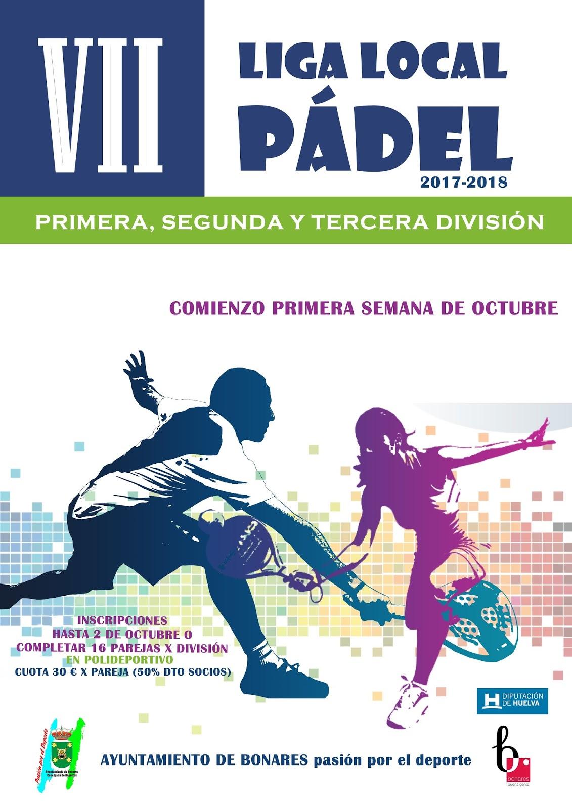 VII LIGA LOCAL DE PÁDEL