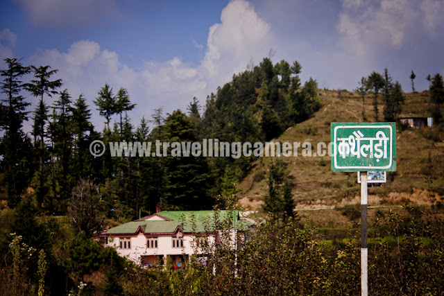 Mointain Terrain Biking Himachal 2011 - Day1 : Shimla to Ghada Kufar : 76 Kilometers : Posted by VJ Sharma on www.travellingcamera.com : Here is the landmark from where Stage-2 started ....