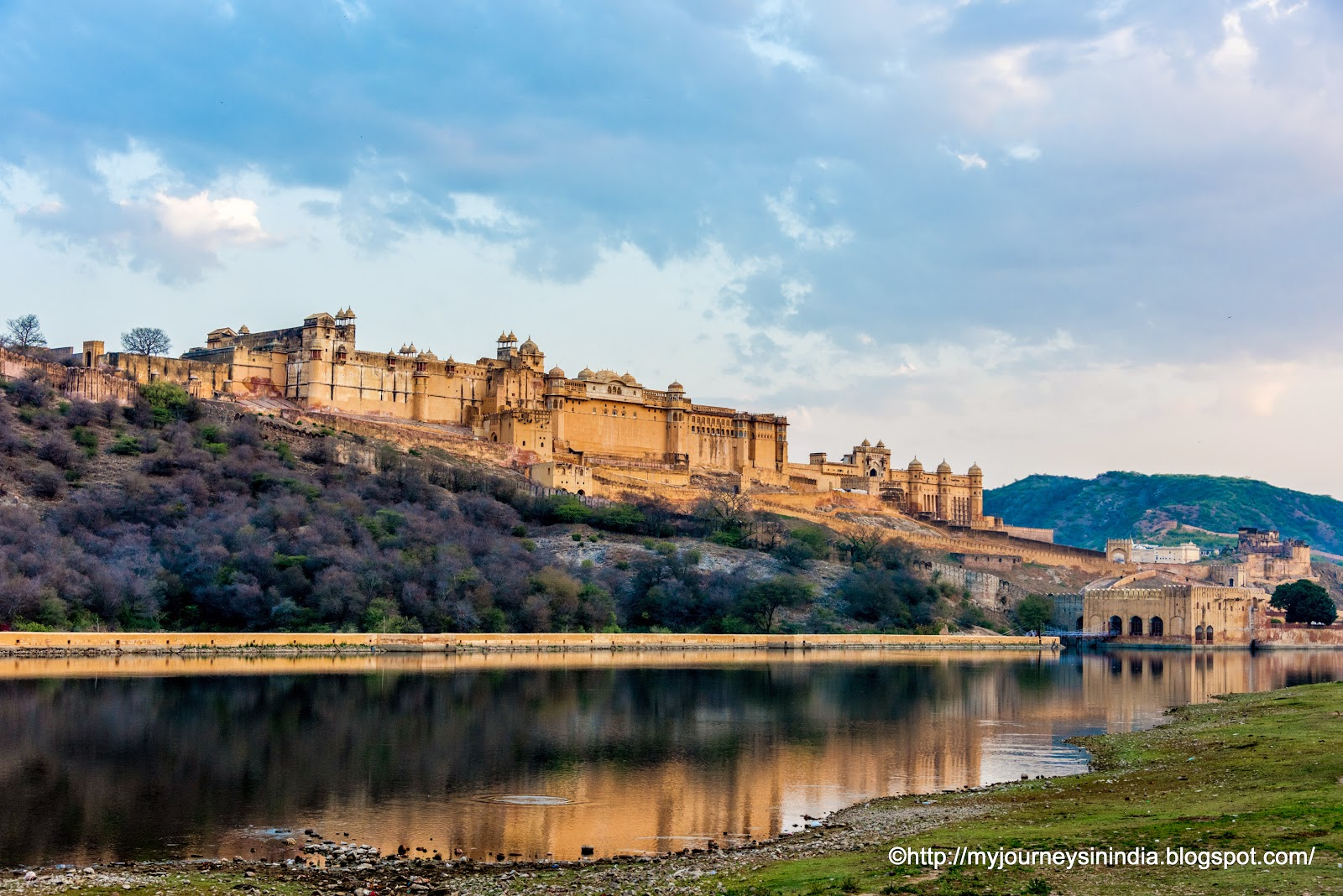 Amer Fort in Early Morning Jaipur