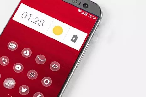 one Theme HD icons Pack Glass apk