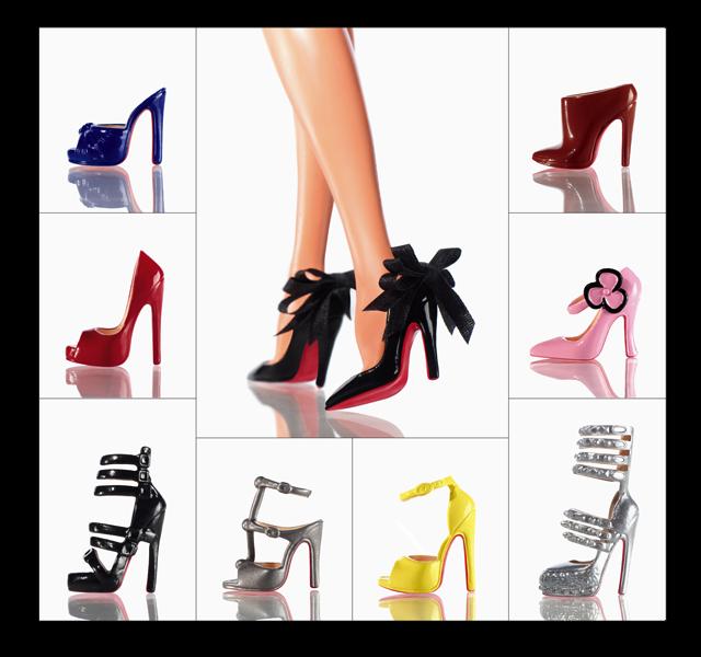 Как сделать для барби туфли