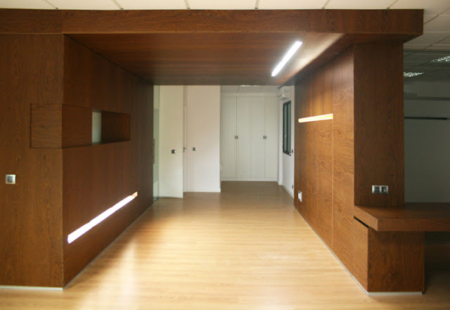 Reforma interior del despacho serrall abogados grupo for Muebles para despacho de abogados
