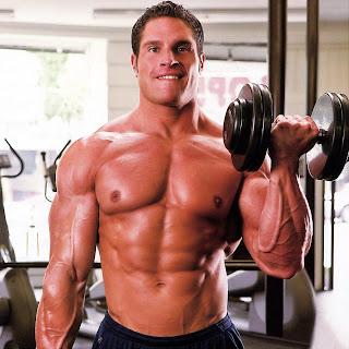 تمارين عضلات الباى والتراى والرست