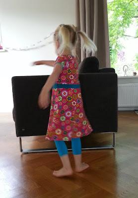 Beetje zwier jurk