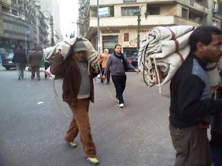 Photos from Tahrir 24 Jan 2012