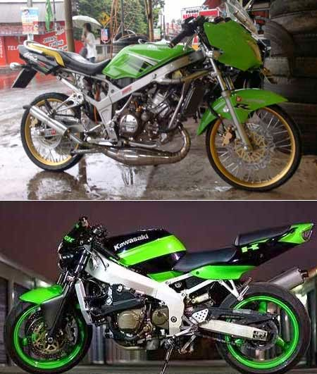 Modifikasi Ninja 150RR