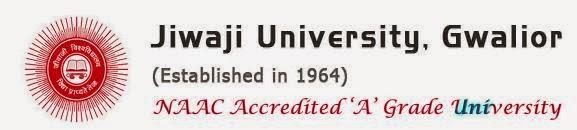 Jiwaji University MBA, B.Ed. 2015 Exam Timetable