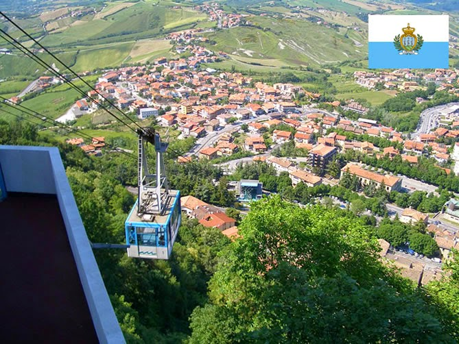 San Marino - smallest country ranked 5th