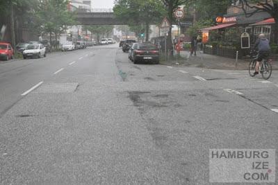 Fuhlsbüttler Straße - ohne Radwegbenutzungszwang